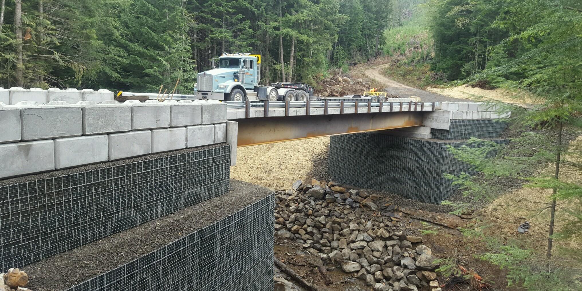 MSE Welded Wire Wall 3 Road Bridge (172)