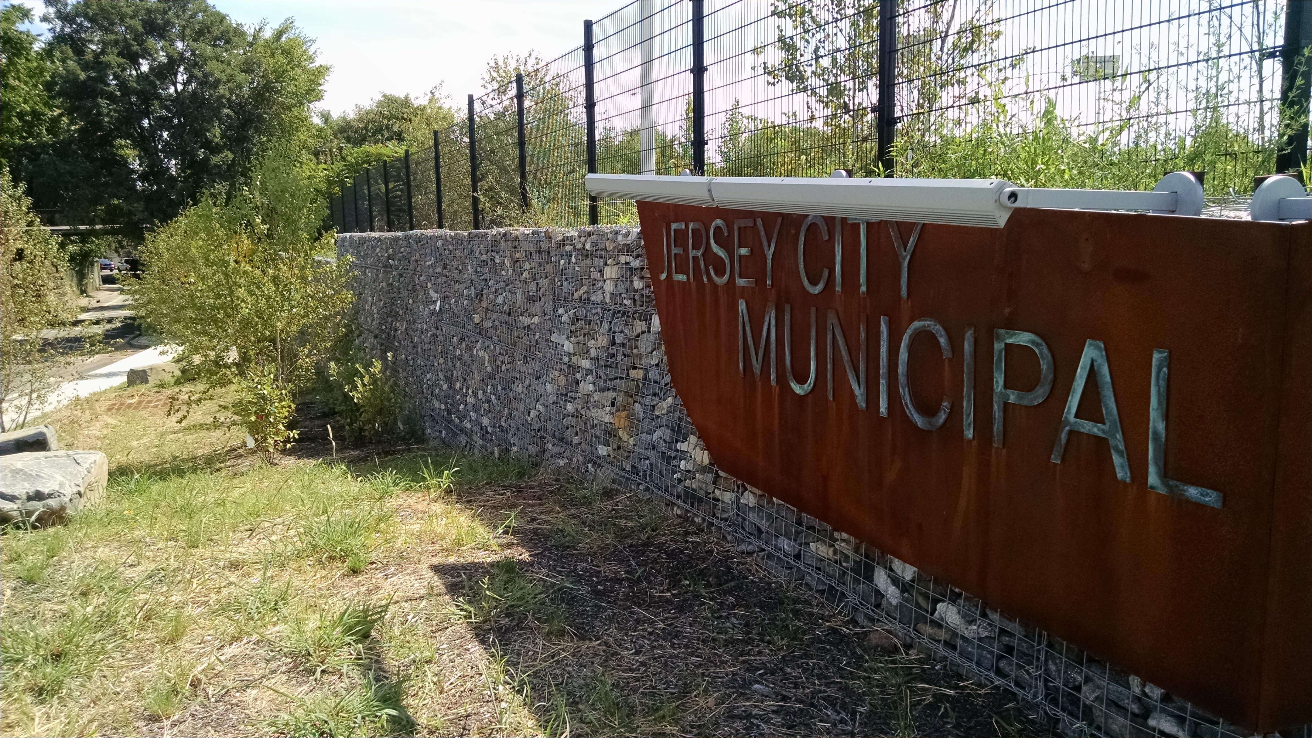 city of jersey ArtWeld Gabions