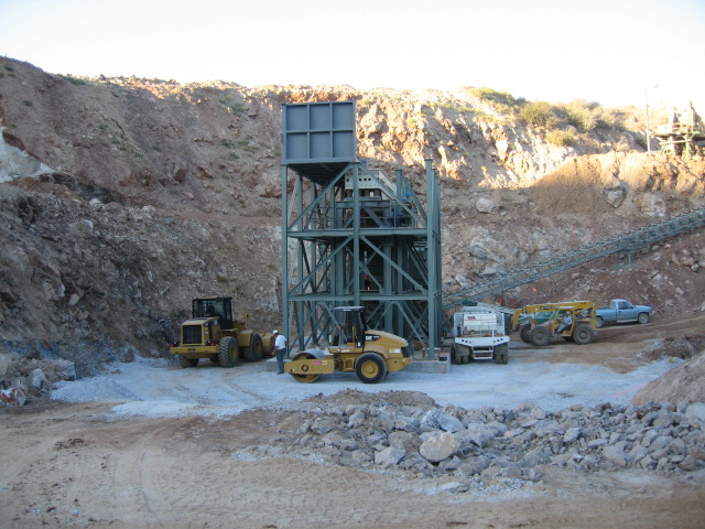mining project construction