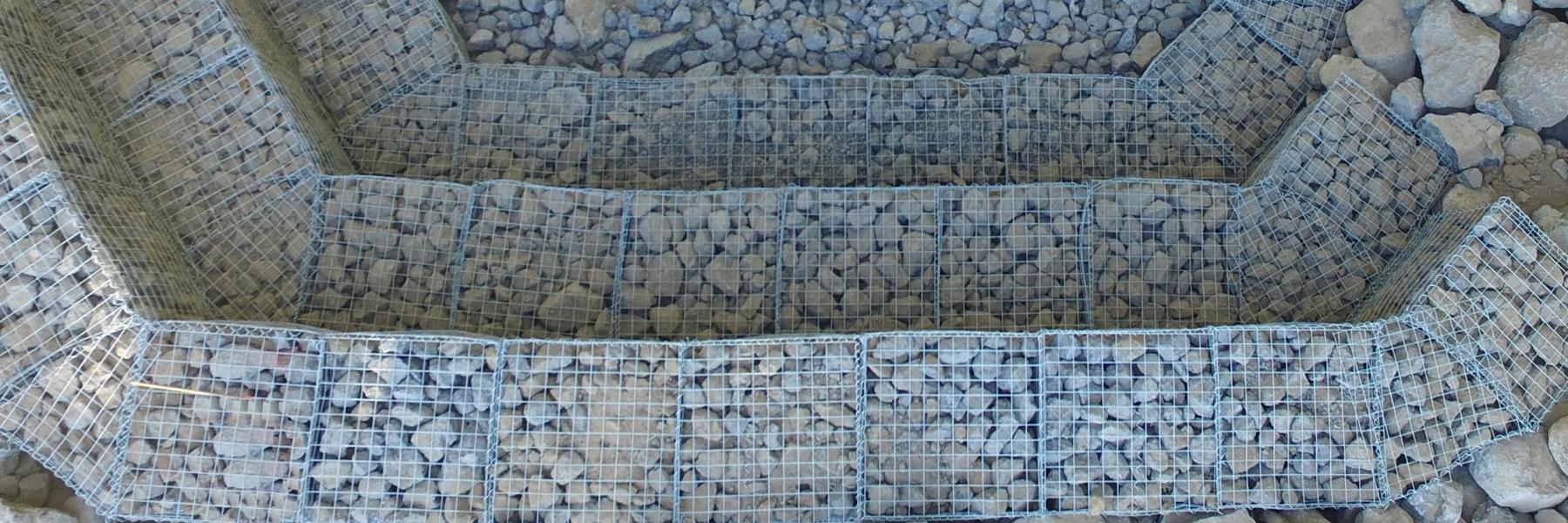 Lakewood Dam ArtWeld Gabions