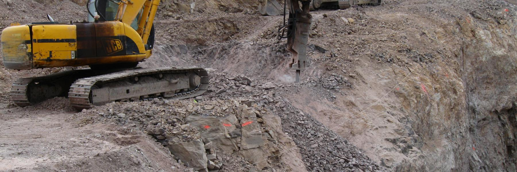 construction mining project