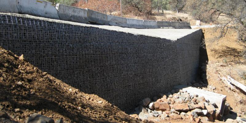 MSE Welded Wire Wall