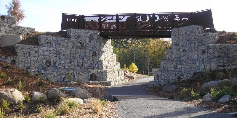 ArtWeld Gabions Jefferson Park