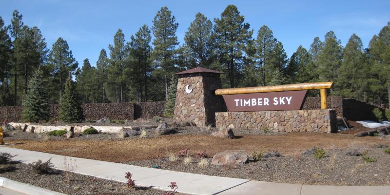 Timber Sky ArtWeld Gabions
