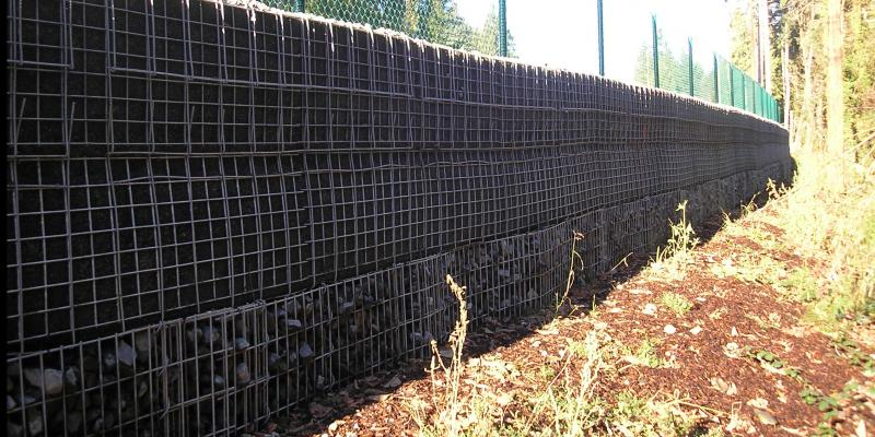MSE Welded Wire Wall and Spiralnail Truss Wall