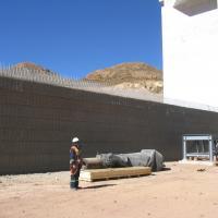San Cristóbal Mine Project MSE Welded Wire Wall