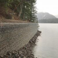 MSE Welded Wire Wall Spruce Railroad