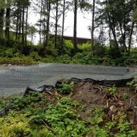 Glacier Highway Reconstruction-4 MSE Welded Wire Wall