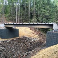 MSE Welded Wire Wall 3 Road Bridge (172)
