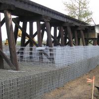 Golf Course Bridge Trinity Gabion Wall