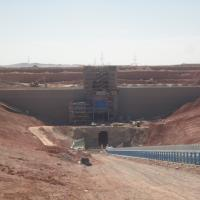Mongolia Mining Project MSE Welded Wire Wall
