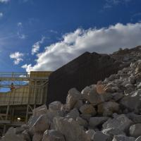Lannon Quarry Stationay Jaw Plant Crusher