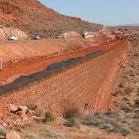 Red Hills Parkway MSE Welded Wire Wall