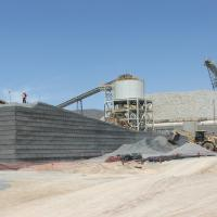 Mazapil Mine, Mill Access Ramp MSE Welded Wire Wall
