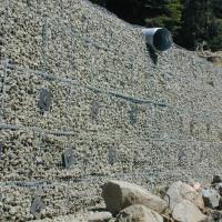 Price Creek Road, PM 2.31 Storm Damage Repair ArtWeld Gabion Spiralnail MSE wall