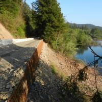 North Bank Road Repair