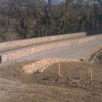 Chalk Hill Road ArtWeld Gabions and Welded Wire Wall