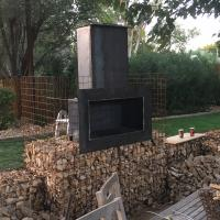Private Residence ArtWeld Gabions