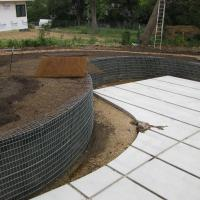 Spiralnail Wiretruss Wall