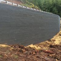 ERFO Road 1934 MP 2.1 MSE Welded Wire Wall