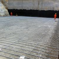 Peru copper mine MSE Welded Wire Wall