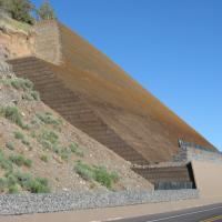US 97 Modoc Point MSE Steepened Slope