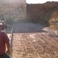 Voca Facility Crusher Retaining Wall