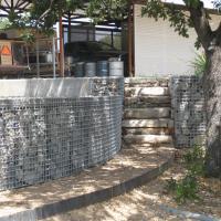 ArtWeld Gabion Miller Ranch Barn
