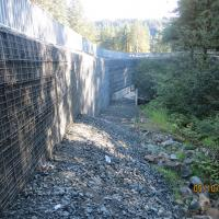 Glacier Highway Reconstruction-16 MSE Welded Wire Wall