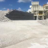 Lannon Quarry Stationay Jaw Plant Crusher MSE Welded Wire Wall