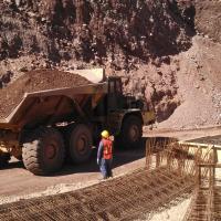 La Colorado, Sonora, Mexico Mine MSE Welded Wire Wall