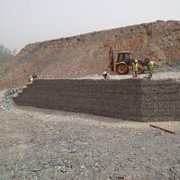 MSE Welded Wire Wall Mining Application