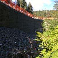 Glacier Highway Reconstruction-13 MSE Welded Wire Wall