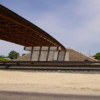 Kings Corner Railroad Overpass