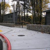 Mercer Slough Environmental Education Center ArtWeld Gabions