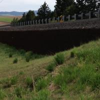 Moscow Mountain Passing Lanes MSE Welded Wire Wall