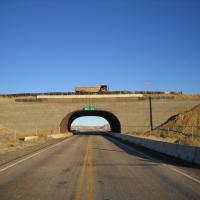 Haul Road Overpass