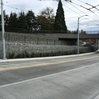UW Montlake Triangle Gabion Faced MSE Wall