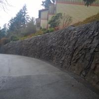 NE 33rd Condominium Rockery Replacement Spiralnail wall